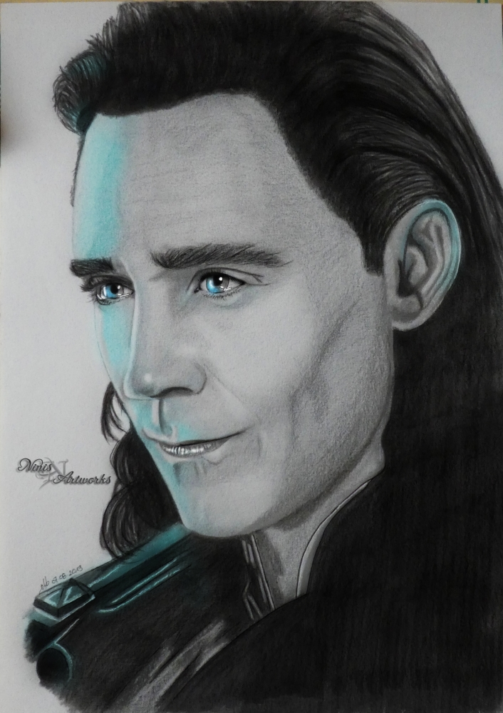 Loki, Tom Hiddleston by Ninis
